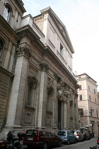 restauro chiesa roma 3