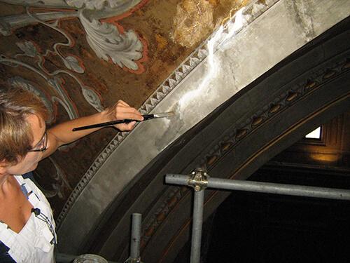 restauro chiesa roma 4