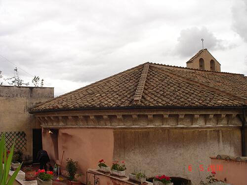 restauro chiesa roma 7