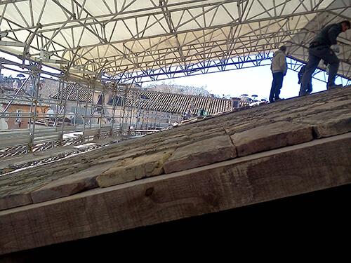 restauro chiesa roma 9
