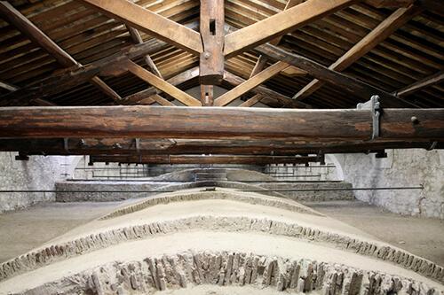 restauro chiesa roma sottotetto 2